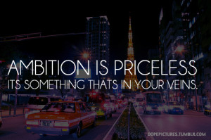 ambition priceless